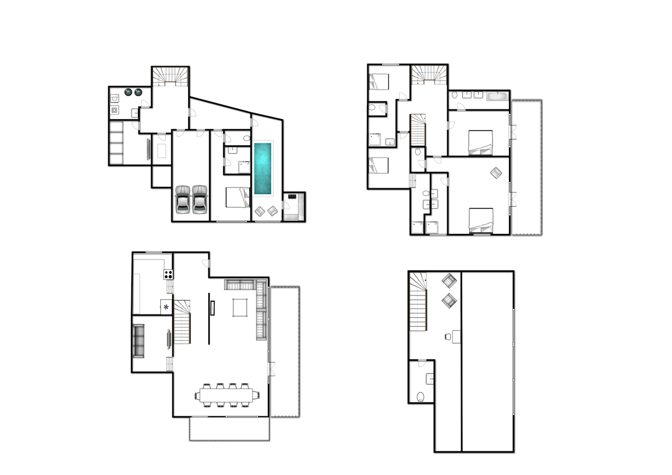 chalet layout